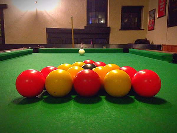Pool Time Red And Yellow Yellow Red Vibrant Color Pool Ball Pool Table Indoors  Pool - Cue Sport Sport Ball No People Multi Colored Green Color Cue Ball Snooker Ball Snooker Snooker And Pool Pool Cue Close-up EyeEmNewHere EyeEmNewHere