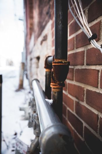 Metal Pipe - Tube Close-up Building Exterior Built Structure No People Day Architecture Outdoors Water Pipe