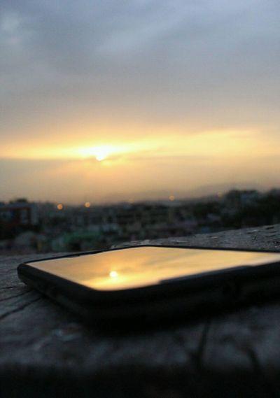 Sunset Visakhapatnam Evenings City Life