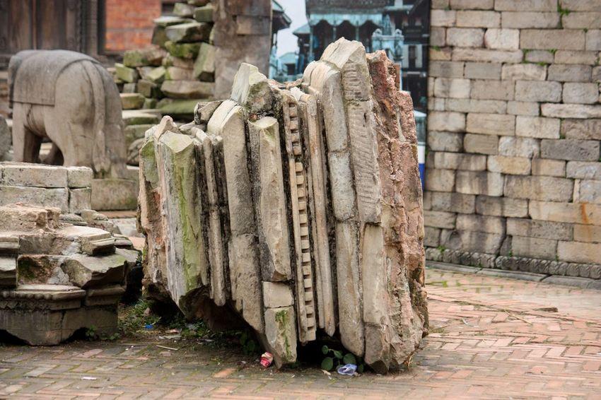 Bhaktapur Bhaktapur Durbar Square Broken Catastrophe Damaged Durbar Square Earthquake EarthquakeNepal Nepal No People Ruined