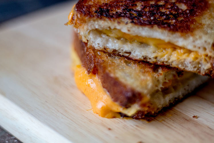 Grilled Cheese Cheese Close-up Comfort Food Food Food And Drink Freshness Grilled Cheese Melting Ready-to-eat Sandwich Unhealthy Eating