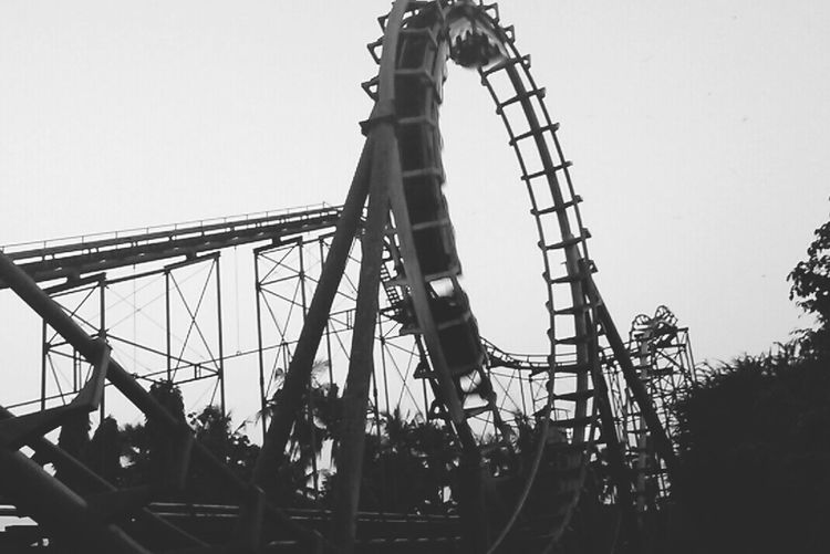 Monochrome _ Collection Monochrome Blackandwhite Blackandwhite Photography Rollercoaster Adventure Eyeem Monochrome Dunia Fantasi