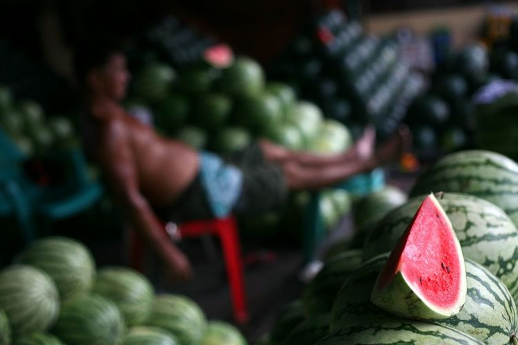 WaterMELONS Summer Market Fruits Fruitstand Eyeem Philippines