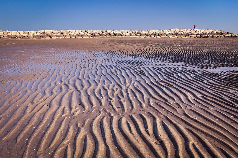 View of sand dune