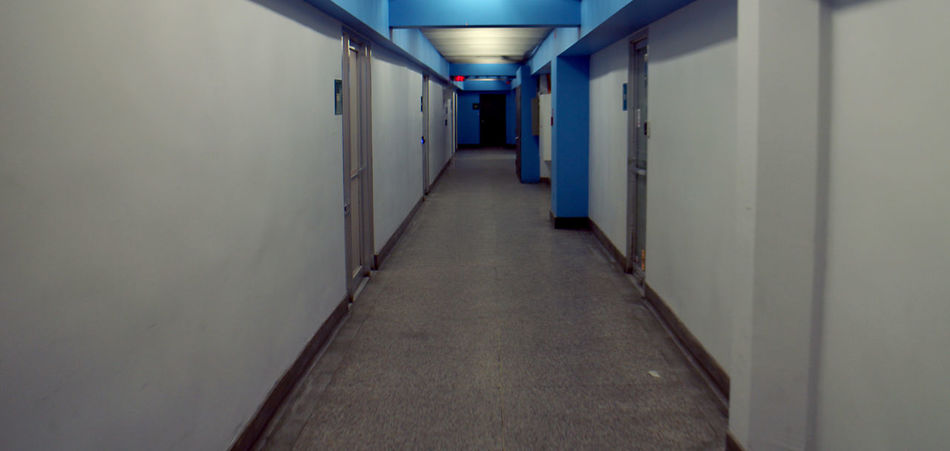 Photos taken in and around Montreal, winter of 2018. Montréal Montreal, Canada Passageway Hallway Corridor Architecture Arcade Building Direction Diminishing Perspective The Way Forward Built Structure Illuminated Indoors  Lighting Equipment Empty No People Flooring Absence Ceiling Wall - Building Feature vanishing point In A Row Door Light Long Electric Lamp