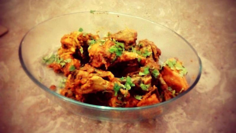 Masala Chicken Enjoying Life Food Love