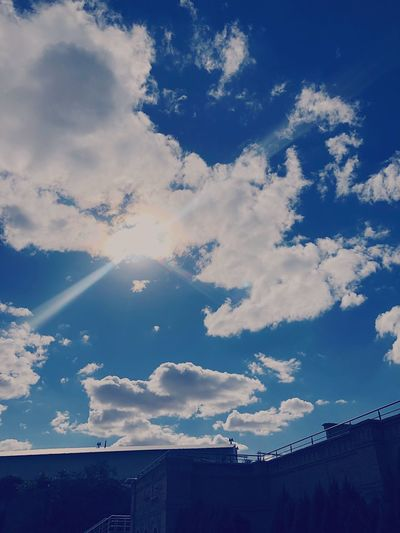 Clouds Cloud - Sky Sky Low Angle View Nature Beauty In Nature Day No People