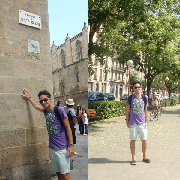 Barcelona SPAIN Menfashion Ootdmen
