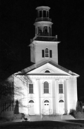 Architecture Blackandwhite Blackandwhite Photography Building Exterior Enjoying Life Hanging Out Hello World Night Nightphotography No People Outdoors Place Of Worship Relaxing Religion Spirituality Taking Photos Tallmadge Circle