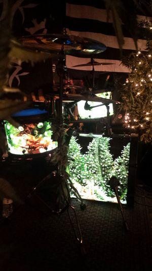 KottonmouthKings Christmas Drumkit Check This Out Salsamanphotography LiveMusic