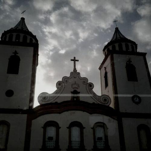 Church Baturité-CE Sky Clouds