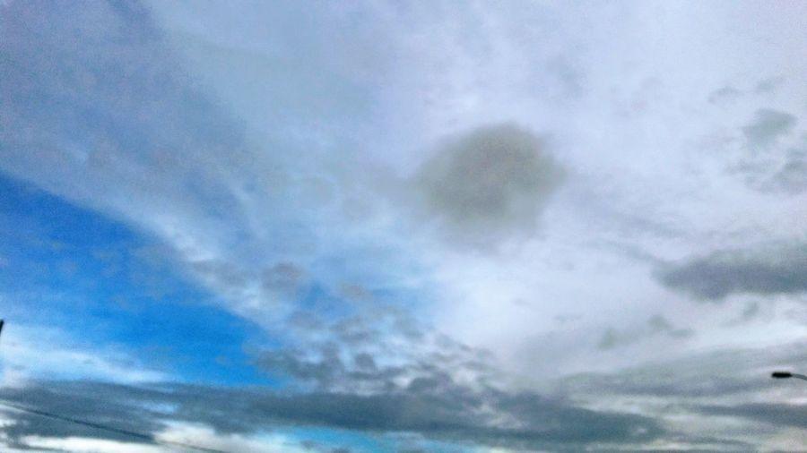 EyeEmNewHere First Eyeem Photo EyeEm Gallery Guyane Saint Laurent Du Maroni Ciels De Guyane Backgrounds Full Frame Blue Sky Only Abstract Textured  Sky Close-up Cloud - Sky Meteorology Dramatic Sky Atmospheric Mood Heaven