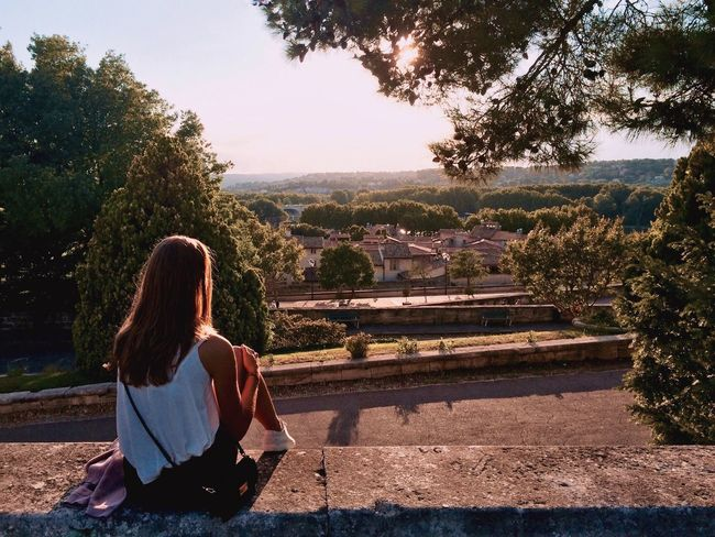France Avignon Girl Athleisure Landscape Day Sunset Neighborhood Map Live For The Story EyeEm Selects Lost In The Landscape Perspectives On Nature Perspectives On Nature