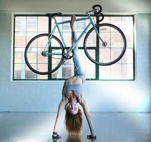 Yogogirls Yogokickstand Backbend Yoga Bike