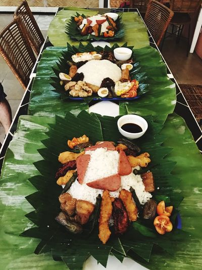If you've been used to fine dining, try something different 🤗 Boodle Fighting. Food Ready-to-eat Food And Drink Table Plate Paradise Ranch