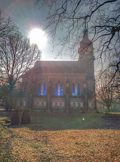 Hello World Hdr_Collection Old Church Fantastic Sunlight
