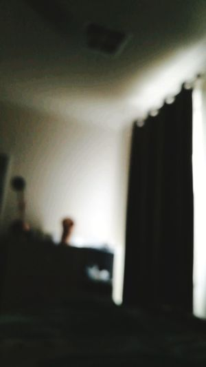 Indoors  No People Room Curtain Blurred Blur Dark Alone Alone In My Room No Lights