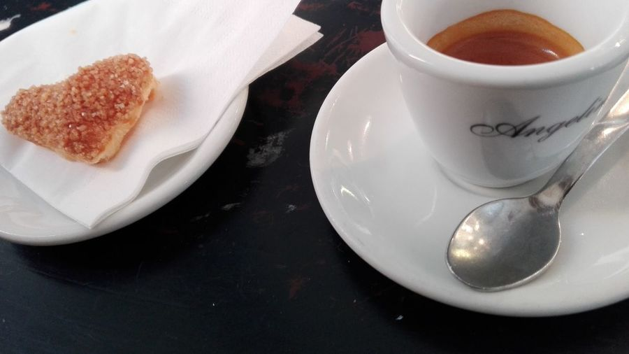 Coffee ☕ Rome Italy Hello World Angelina Caffè Rome No Filters Or Effects Hollidays In Rome Coffee Cup Coffee In Rome Relaxing