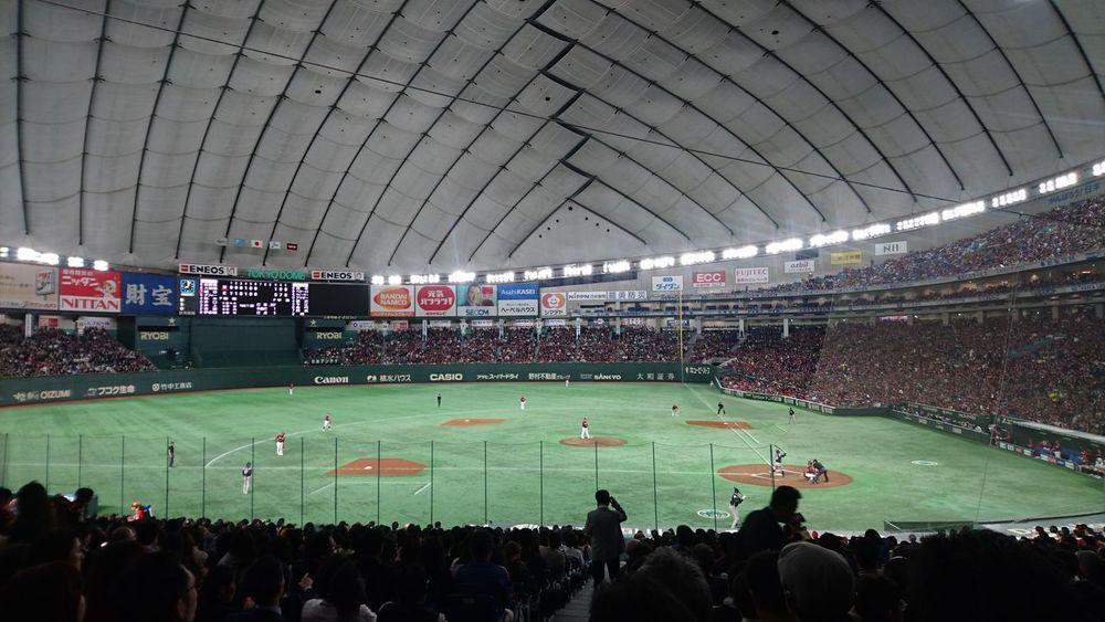 東京ドーム Tokyodome Baceball Stadium