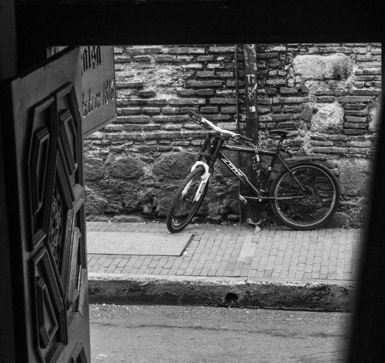 Bicycle, black and white Bicycle Black & White Black And White Blackandwhite Blackandwhite Photography Blackandwhitephotography Mode Of Transport Street Photography Streetphoto_bw Streetphotography Showcase: November Pattern Pieces