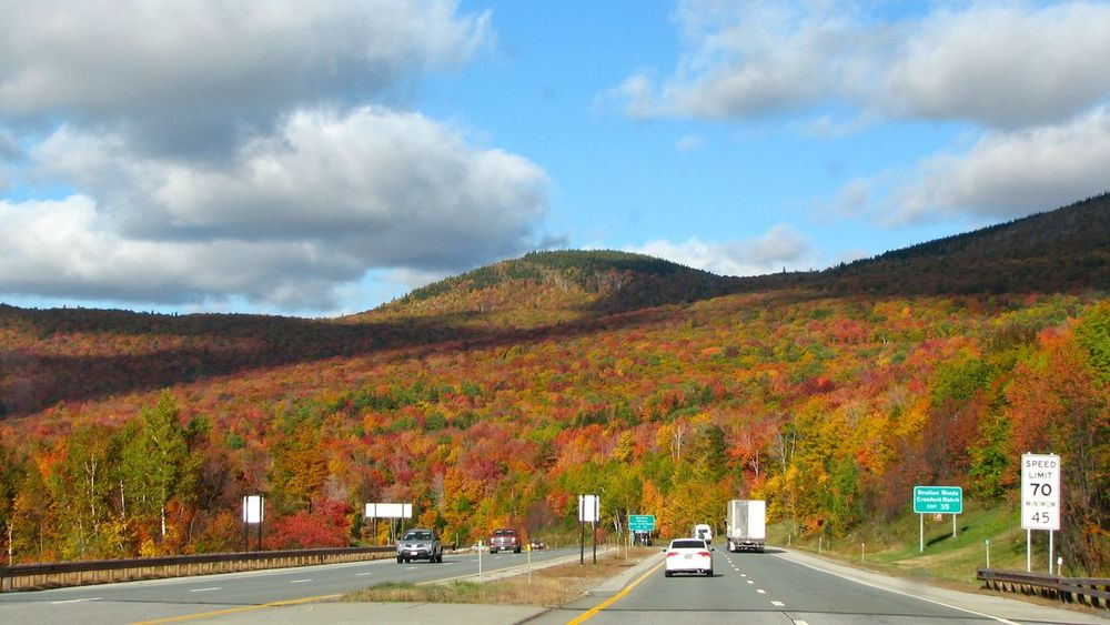 Highway 93. 93 Autumn Colors Fall Colors Highway Live Free Or Die New Hampshire No Edit/no Filter No People Road