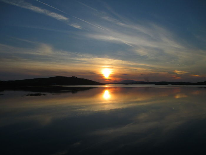 Beauty In Nature Connemara Idyllic Ireland Outdoors Reflection Scenics Sun Sunset Tranquil Scene Water Wild Atlantic Way The Great Outdoors - 2016 EyeEm Awards