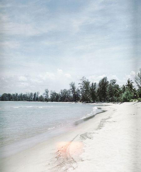 Cherating Beach Day Sky Landscape Outdoors Clear Sky Beauty In Nature EyeEm Filmphotography Filmisnotdead Ishootfilm EyeEmMalaysia Believeinfilm PENTAX67 Beach Beachphotography Mediumformat