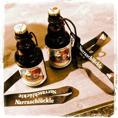 A #Narraschlückle bei #Autenrieder. Jetzt sind wir ausgerüstet. #INTERGASTRA Beerlanyard Bierhalter Beer Narraschlückle Autenrieder Fasching Lanyard Stuttgart Bier Show Messe Fasnet Messestuttgart Tradefair Intergastra Gelatissimo