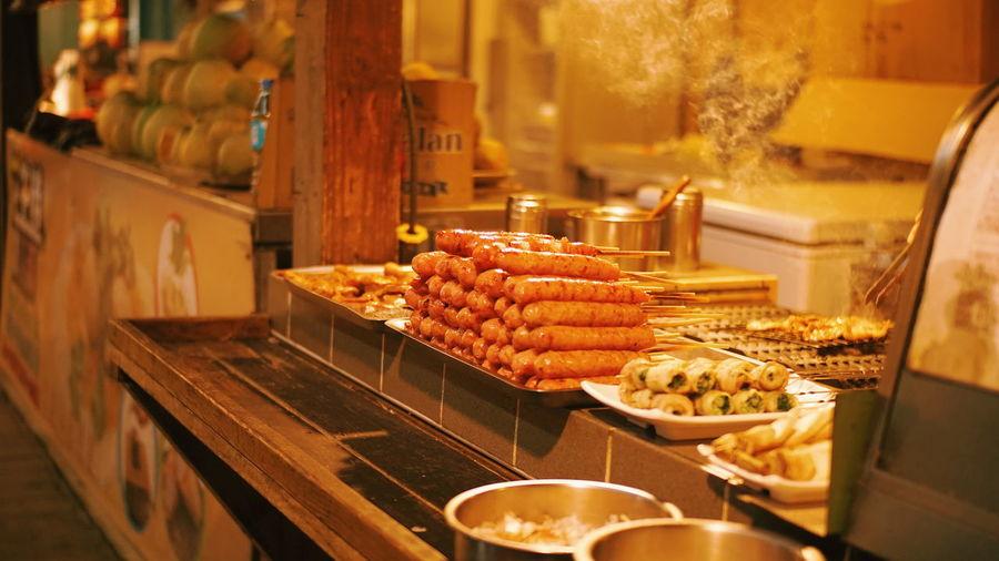 Sausage at