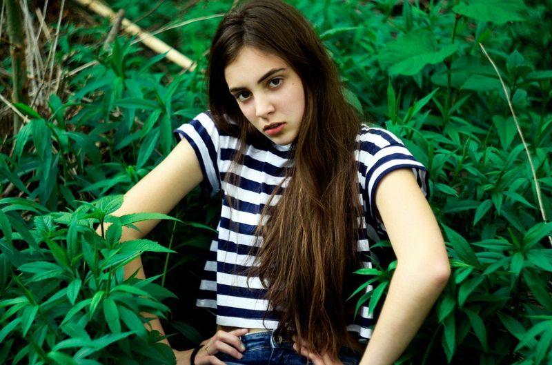 Girl Model Love Cute Fashion Beautiful Spring Green Young