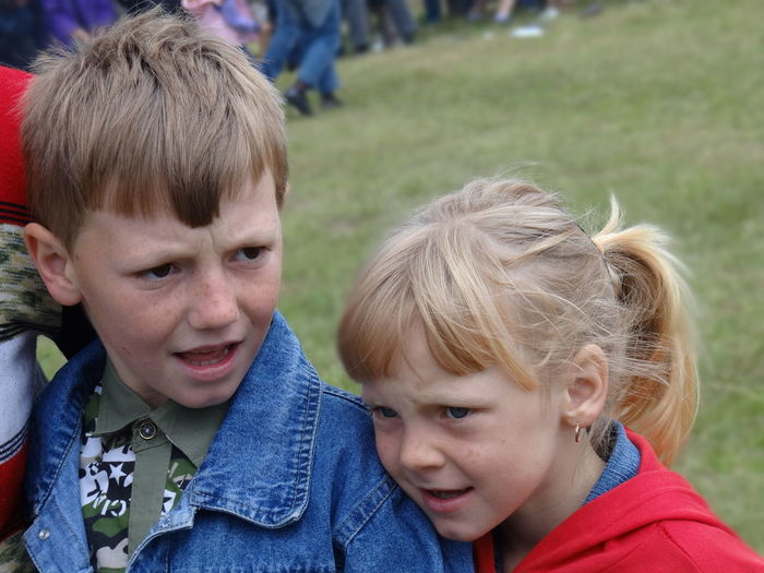Kids Boy And Girl