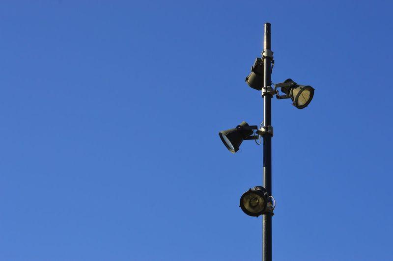 Headlamp Lighting Equipment Light Clear Sky Blue Sky Close-up Pole Lamp Post Electric Light Light Fixture The Still Life Photographer - 2018 EyeEm Awards