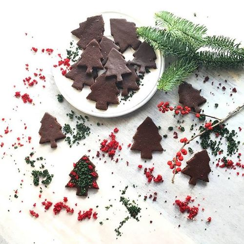 Cute and yummy🎄 บราวนี่ทำเองนะนี่ Chocolate Brownie Baking Cooking Kitchen Foodie Foodphotography Christmastree Christmas Foodporn Yummy POTD VSCO Vscofood Vscogood Instafood Foodgram Thaistagram Living ArtOfLiving Photography