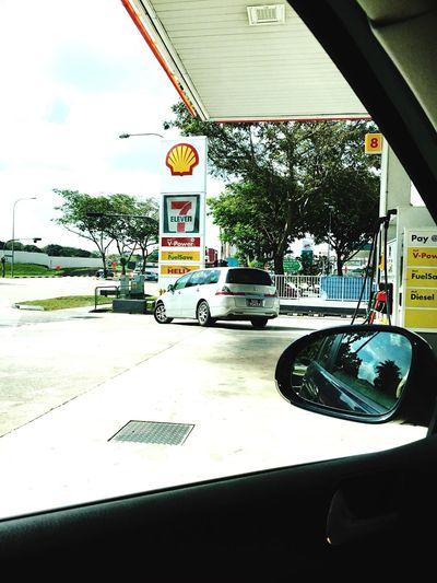 Petrol Car Pumpin Gas