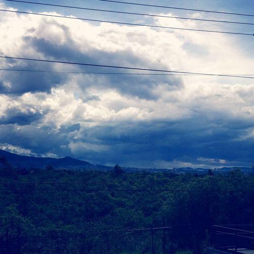 La serranía azul del horizonte surponiente del DF. Filtroazul EyeEm Nature Lover Ciudad De México Mountains