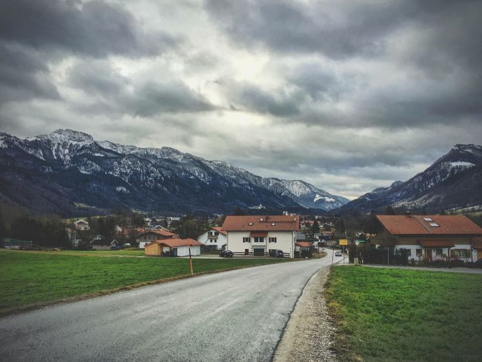 Lake Chiemsee area. Bavaria. Germany. Aschau Bavaria Bayern Chiemsee Clouds Clouds And Sky Cold Deutschland Ferien Germany Holiday IPhone IPhoneography Iphoneonly Journey Tourism Town Travel Travel Photography Traveling Urlaub Vacation Villa Windy Winter
