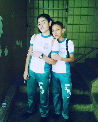 Con @abrilpe13 jaja