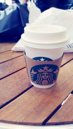 Me favorite of what i love is ☕☕☕ Starbucks Coffee ? Blackcoffee Eyeemcoffee MyFavorite  ?