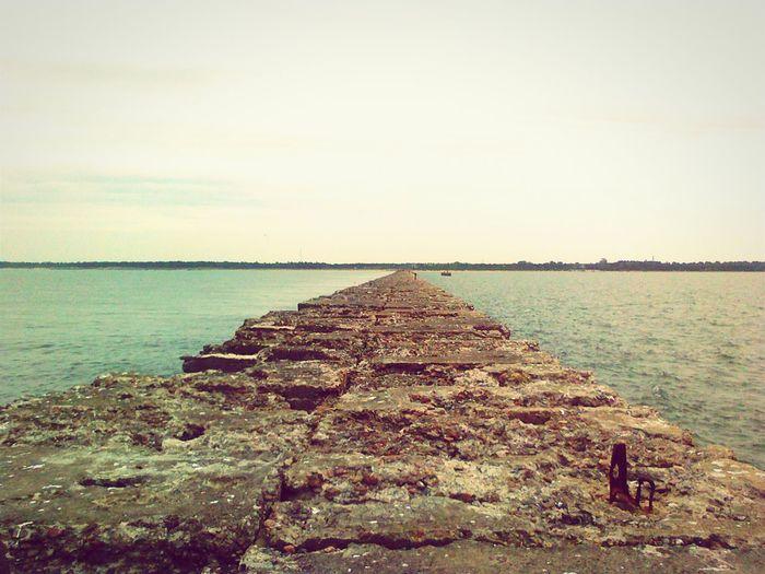 Endlessness Sea path
