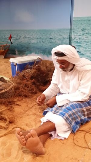 Uae,abudhabi UAE NationalDay Celebration Traditions making of Ropes