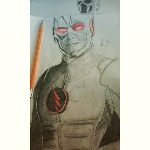 """I'm nothing like the flash,some might say I'm the reverse"" Finally finished 😄 CW Artist Art Tomcavanagh Finishedpiece Sketch Pencils Drawing Reverseflash DC Comics Villian Eobardthawne Harrisonwells Drzoom Done Hardwork Happygeek Doodle Illustration Fanart DCvillians"