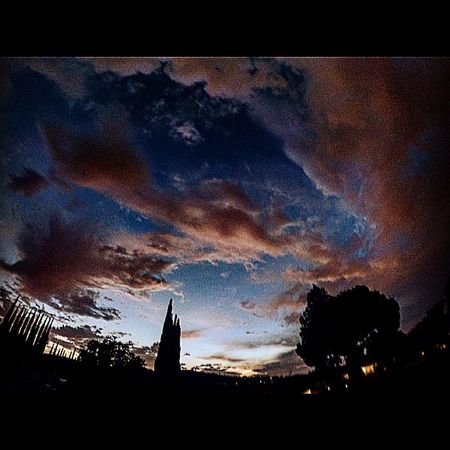Enjoying Life Gopro GoPrography Goprooftheday Hanging Out Sunset Clouds And Sky