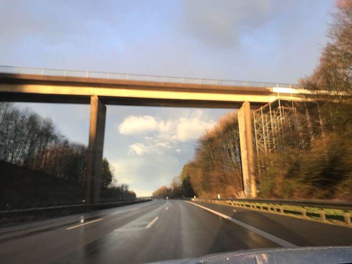 EyeEm Selects Road Transportation Bridge - Man Made Structure Highway The Way Forward Car