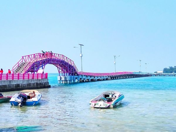 Love Bridge, Tidung Island, Thousand Island, Indonesia Travel Destinations Built Structure Water Live For The Story INDONESIA Stories From The City