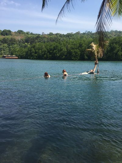 Water Swimming Outdoors
