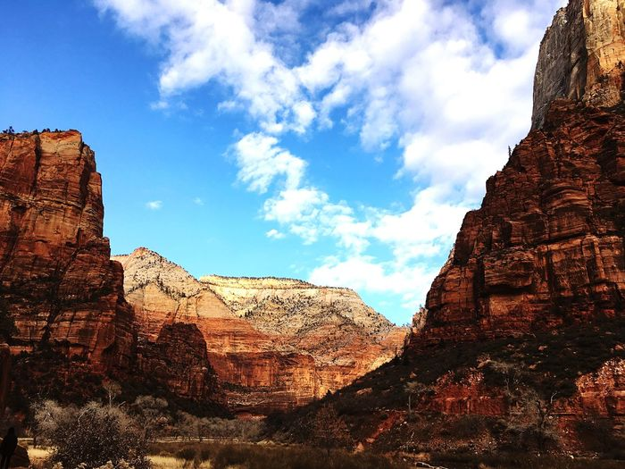 The view - Zion national park Zion National Park Majestic National Park Tourism Natural Beauty Naturelovers Nature_collection Nature Photography Nature Travel Destinations Photography Travel Photography Clear Sky