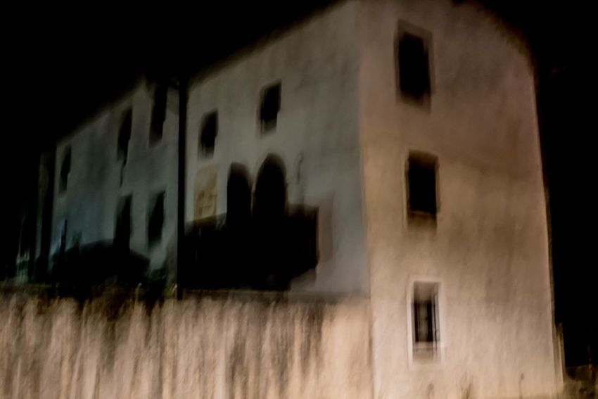 Architecture Night Abstract Rural Building