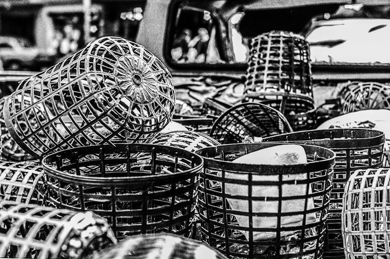 Argentina Black And White Blanco Y Negro Damajuana Day Market No People Outdoors Vino 35mm Fotografía Analógica Analogue Photography