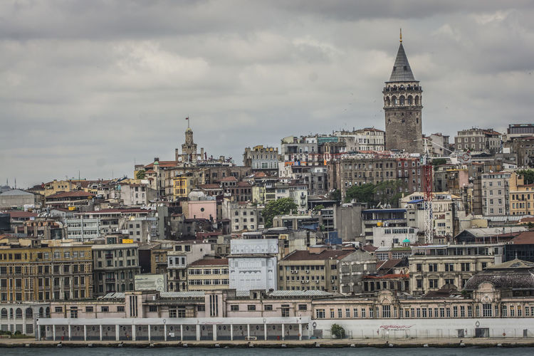Aerial View Architecture Building Building Exterior Built Structure Capital Cities  City City Life Cityscape Community Development Façade Famous Place Galata Tower Galatakulesi History Human Settlement International Landmark Old Town Outdoors Perspective Residential District Top Perspective Town Square