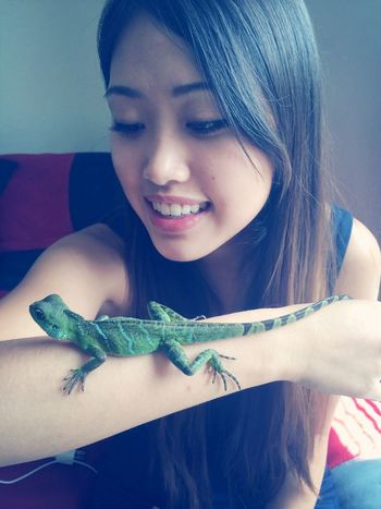 Chinesewaterdragon meet Marley ?